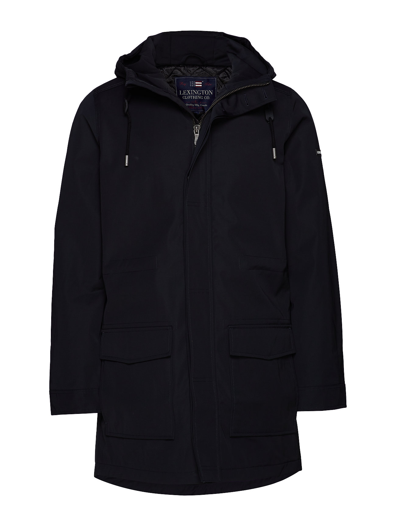 Lexington Clothing Hamilton Parka - BLACK