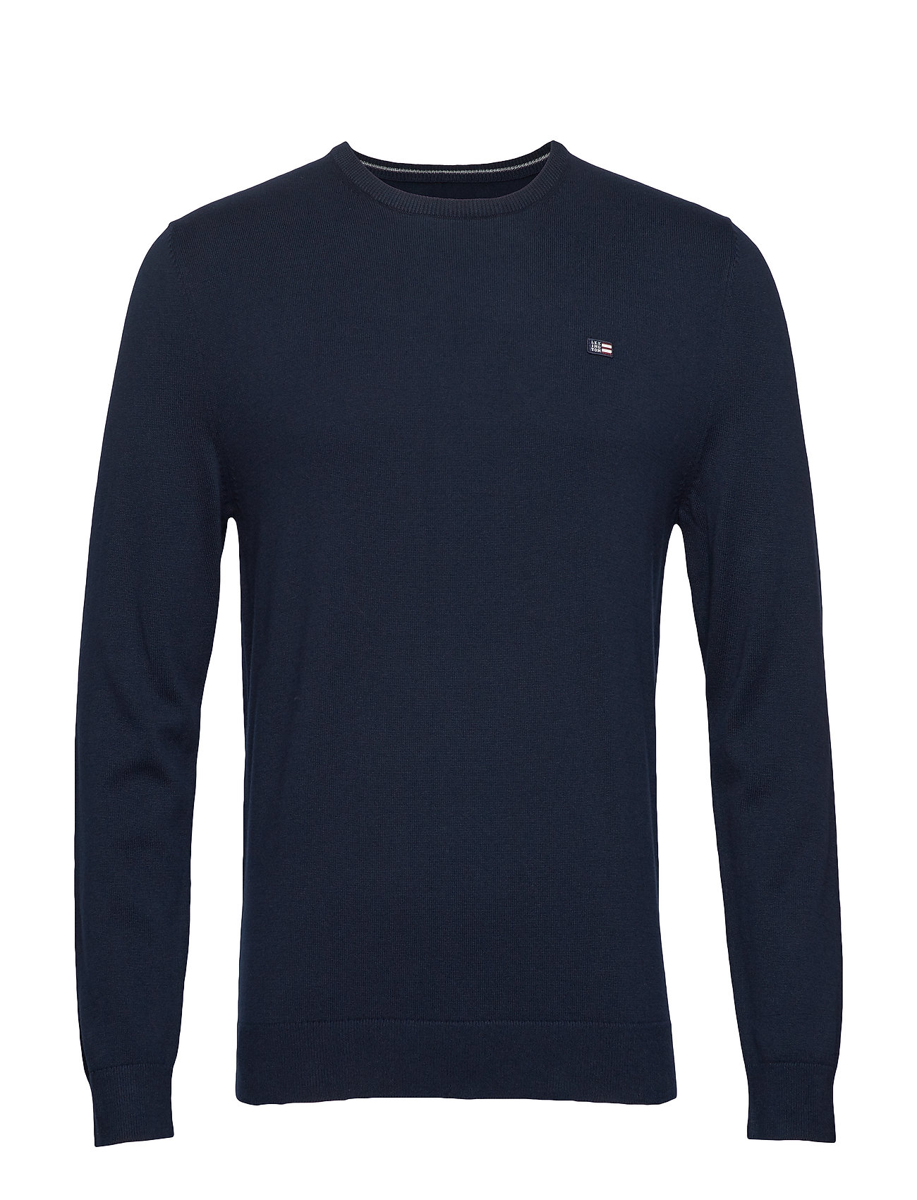 Lexington Clothing Bradley Crew Neck Sweater - DARK BLUE