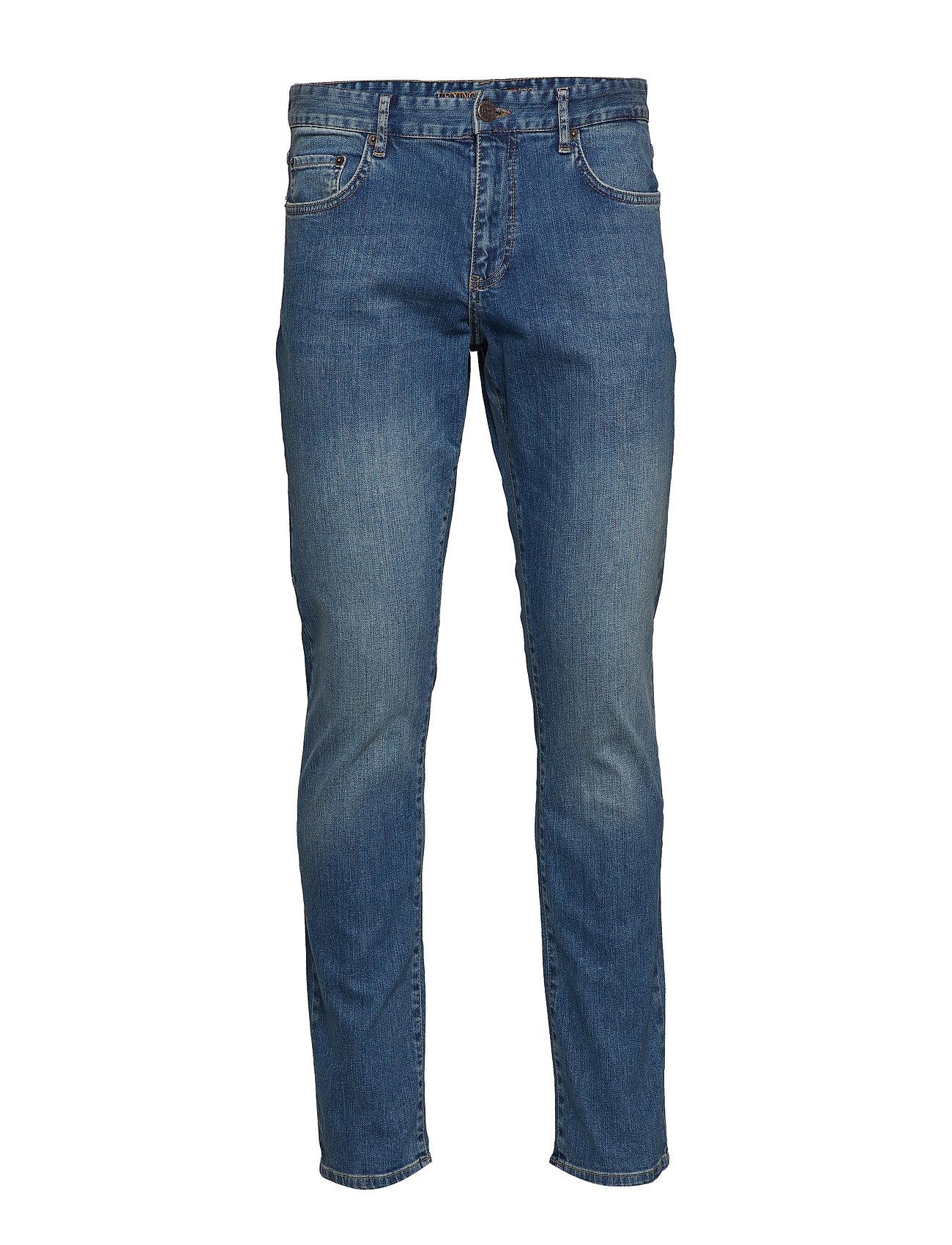 Lexington Clothing Colin Jeans - MEDIUM BLUE DENIM