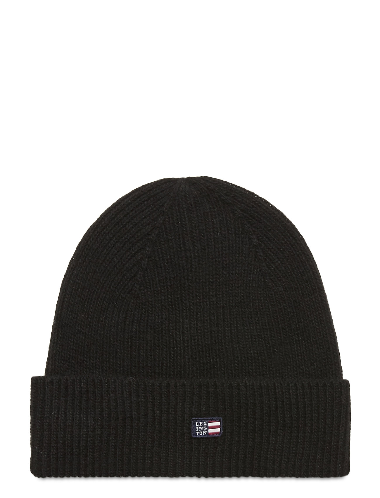 Image of Stockton Lambswool Beanie Accessories Headwear Beanies Sort Lexington Clothing (3486935065)