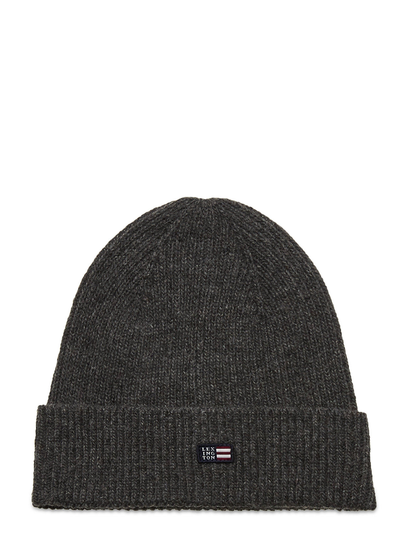 Image of Stockton Lambswool Beanie Accessories Headwear Beanies Grå Lexington Clothing (3454943739)