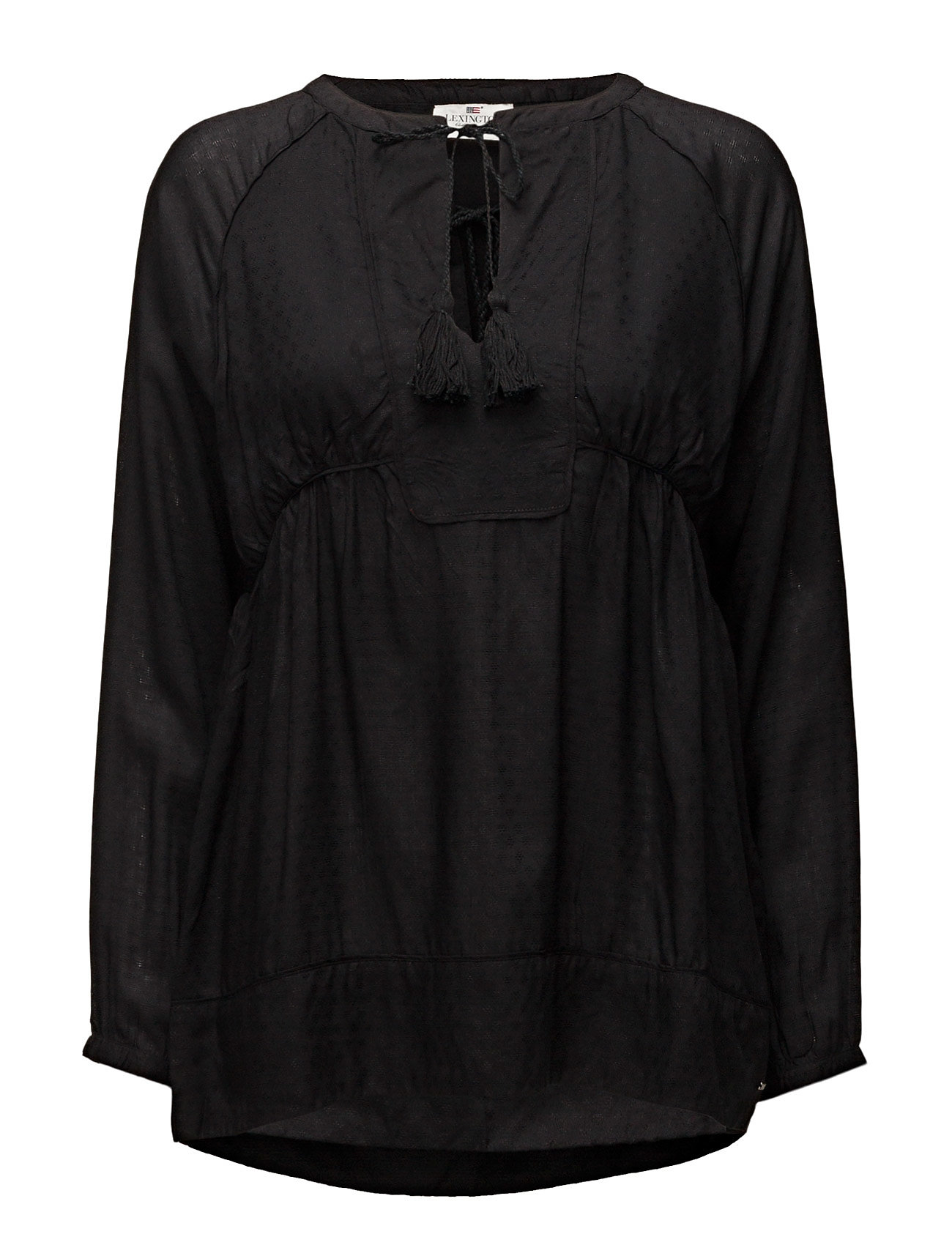 Lexington Clothing Issie Tunic - CAVIAR BLACK