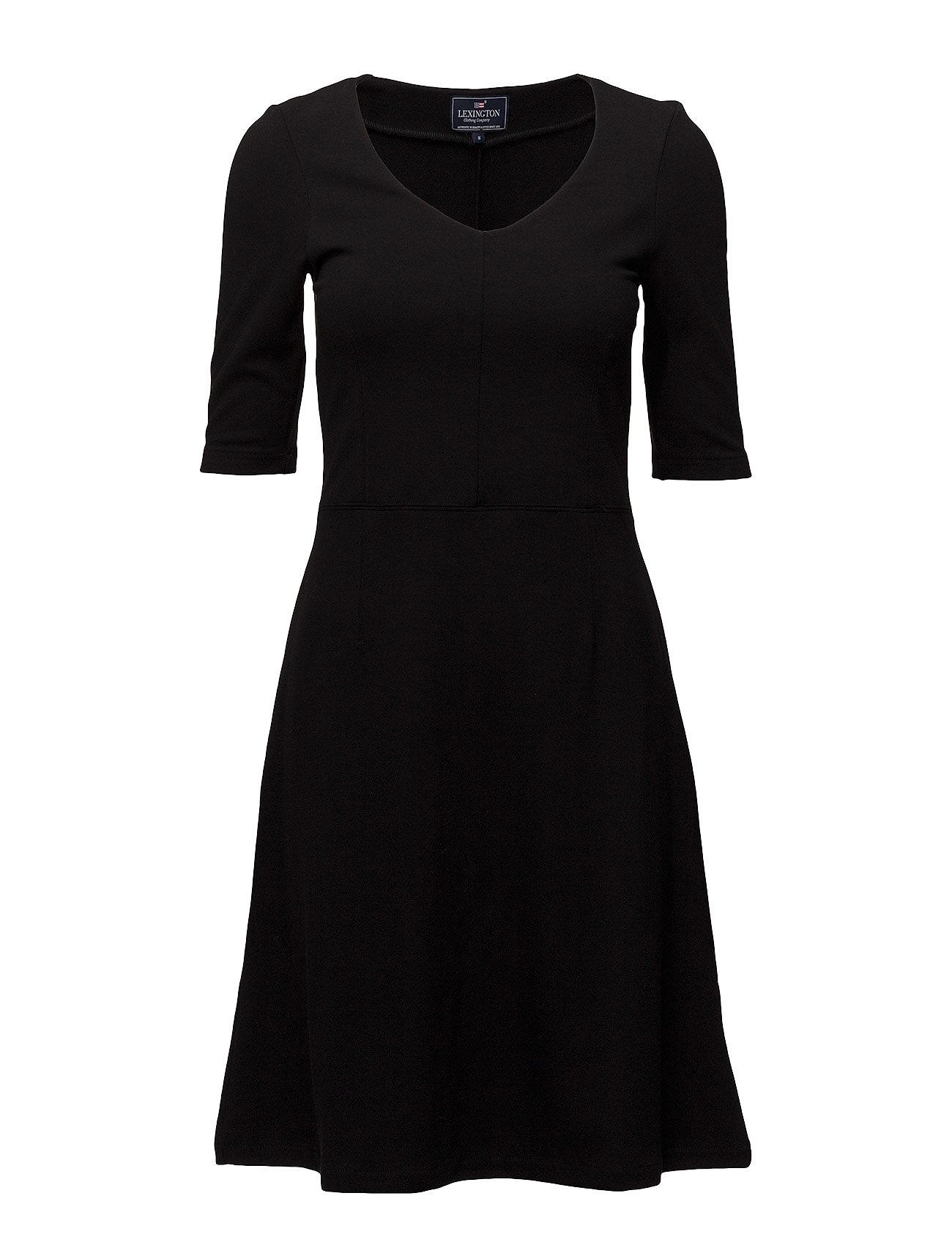 Lexington Clothing Scarlett Jersey Dress - Caviar Black