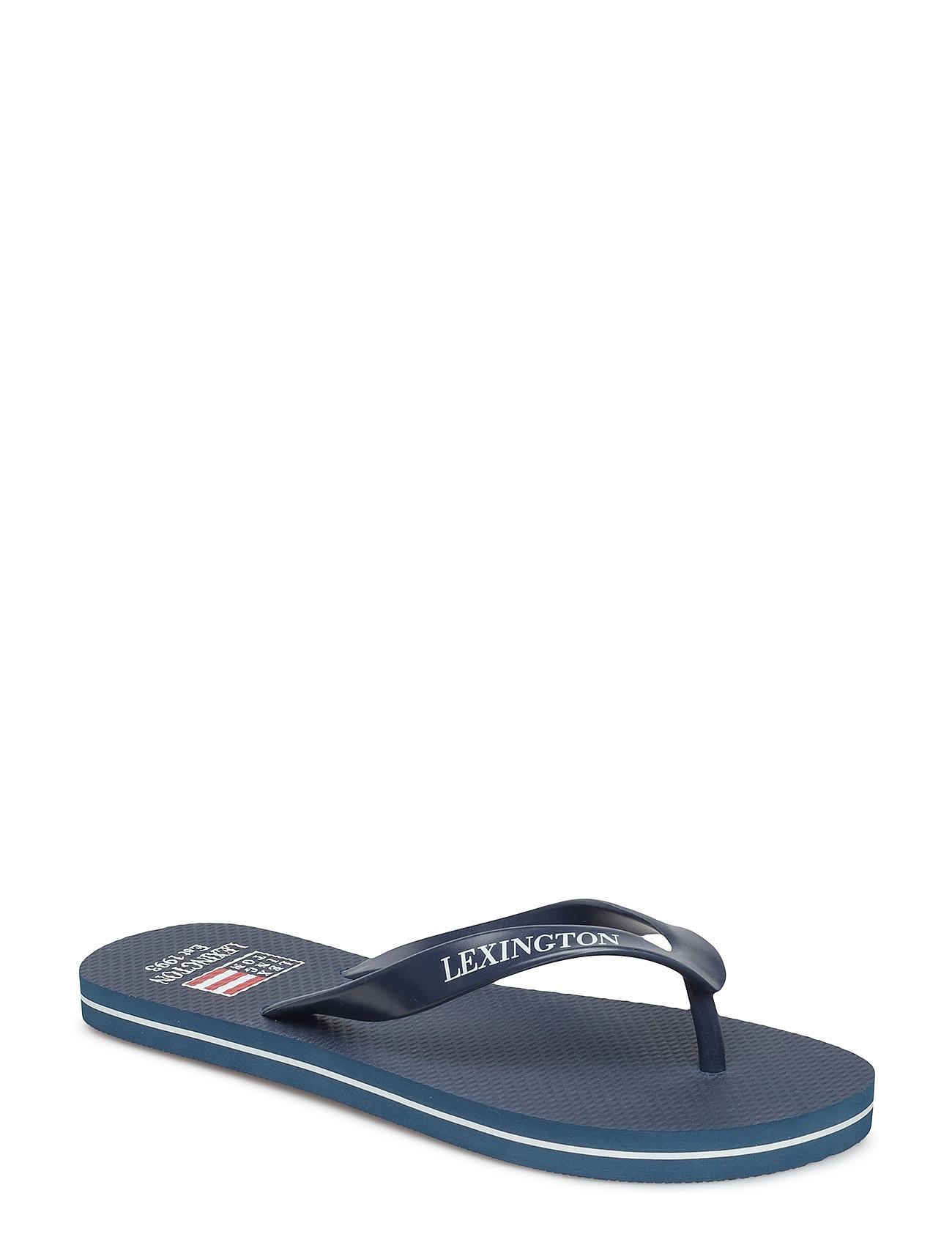 cbb4e1cf1a94 Orlando Flip Flops Klipklapper Sandaler Blå LEXINGTON CLOTHING