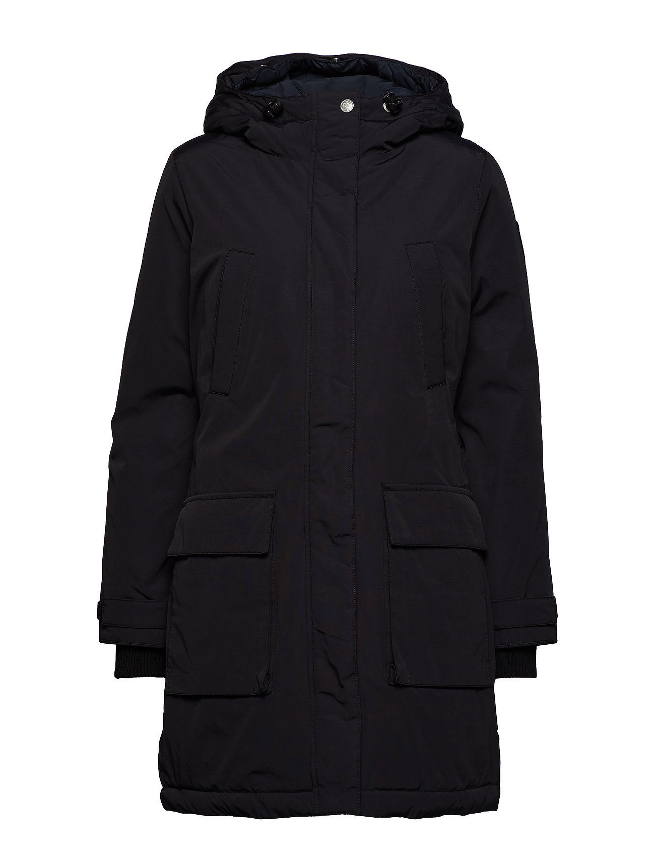 Lexington Clothing Pauline Down Coat - CAVIAR BLACK