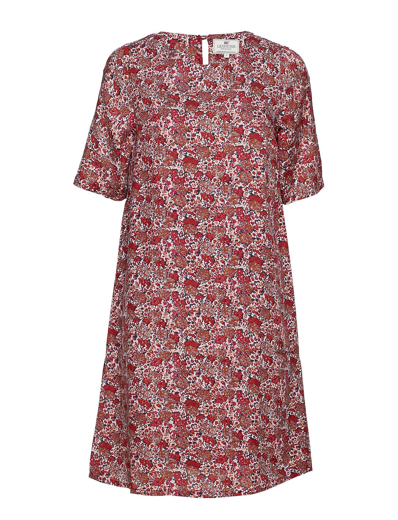 Grace Dressred Red PrintLexington Flower Clothing EIW9D2YH