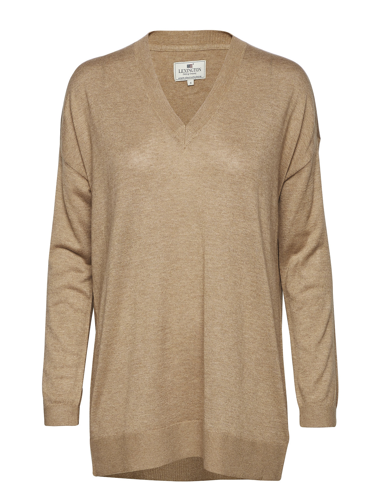 Lexington Clothing Ana Cotton Bamboo Sweater - CAMEL