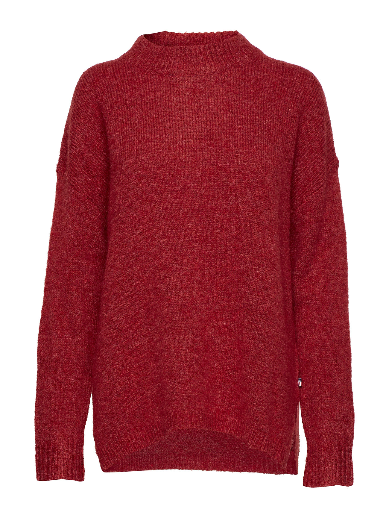 Lexington Clothing Talula Sweater - ROSEWOOD RED