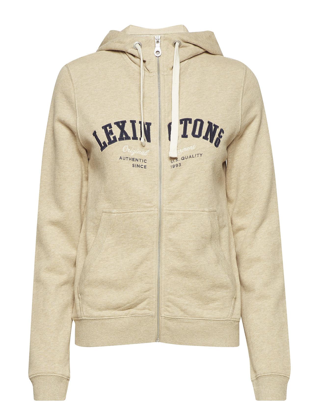 Lexington Clothing Kimberly Hood - BEIGE MELANGE