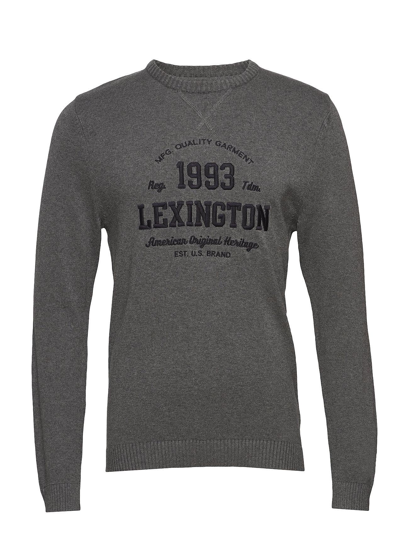 Lexington Clothing Nelson Knitted Sweatshirt