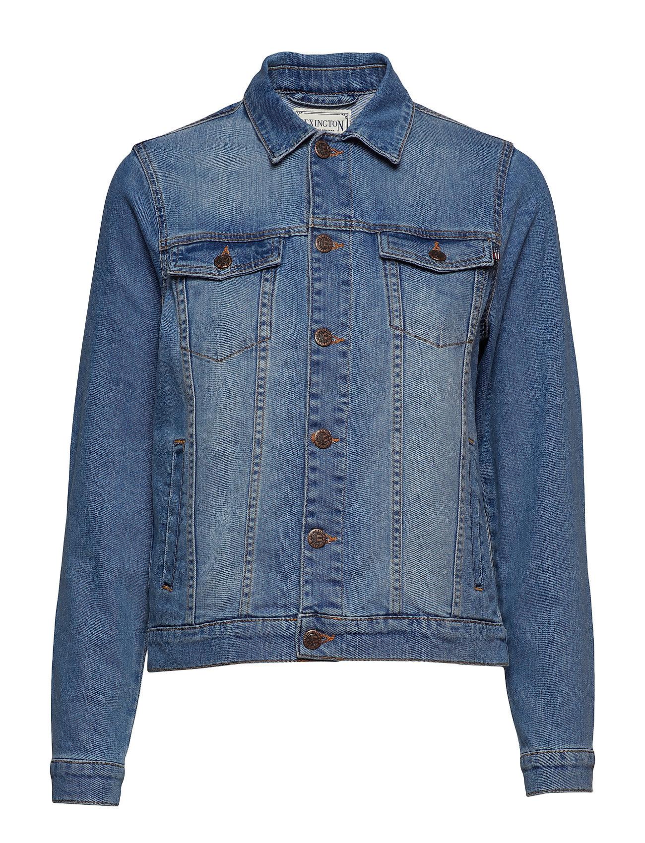 Lexington Clothing Marcie Blue Denim Jacket - LT BLUE DENIM