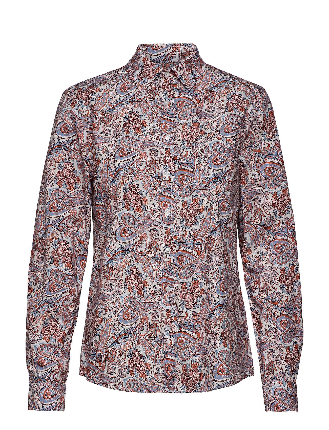 Lexington Clothing Emily Poplin Shirt - PAISLEY PRINT