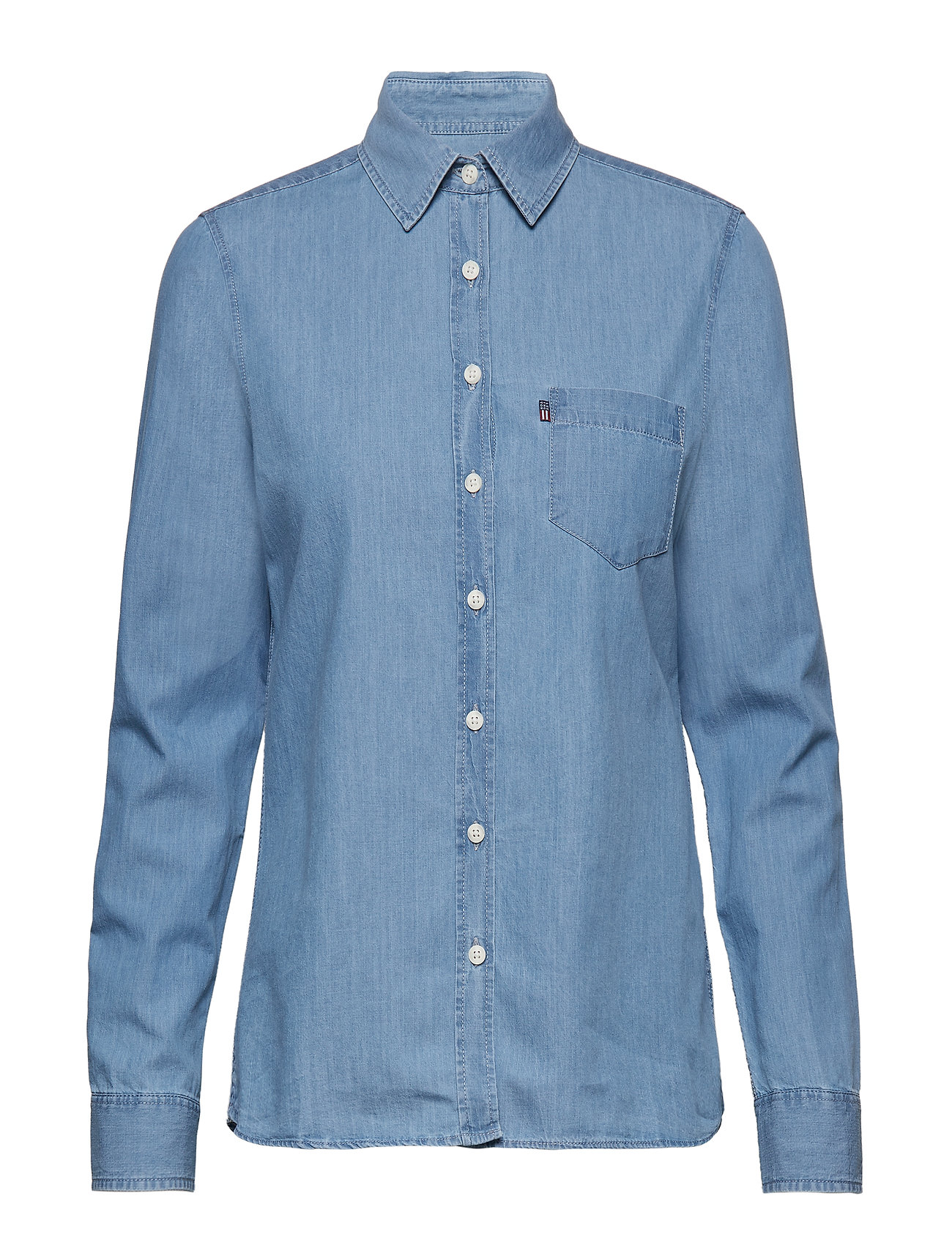 Lexington Clothing Emily Denim Shirt - LT BLUE DENIM