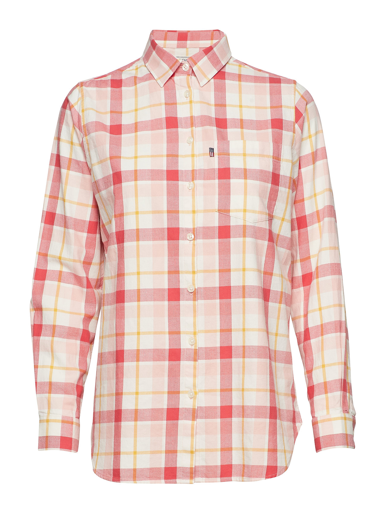 Lexington Clothing Isa Flannel Shirt - PINK MULTI CHECK
