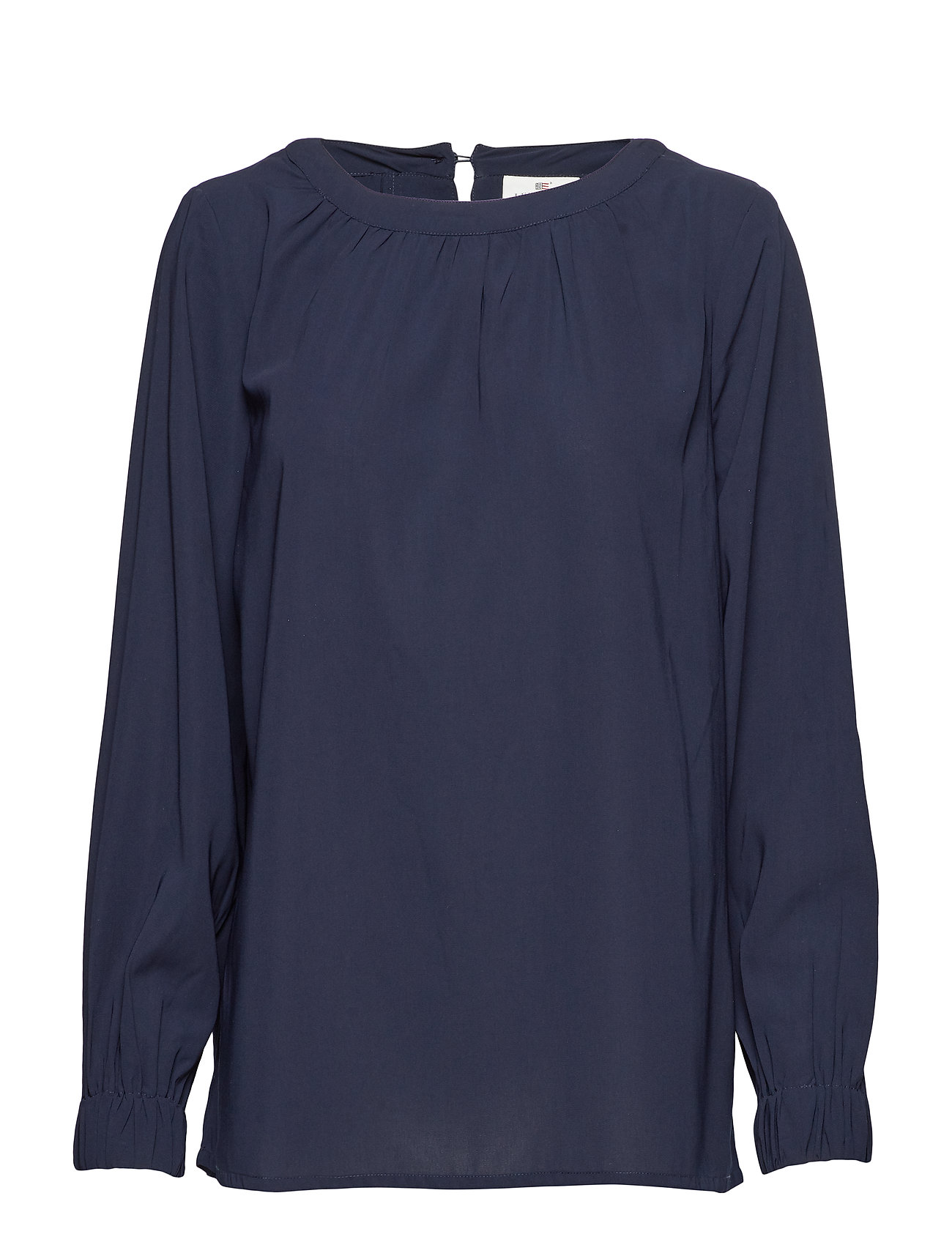 Lexington Clothing Mercer Blouse - NAVY BLUE