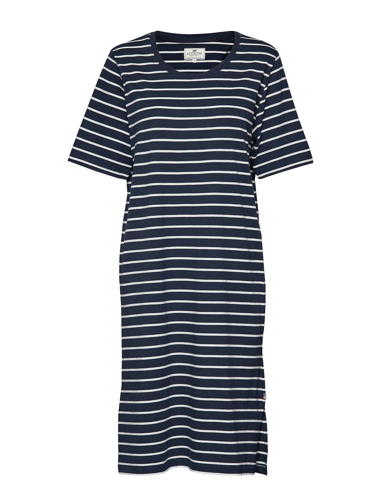 Lexington Clothing Blossom Dress - BLUE/WHITE STRIPE