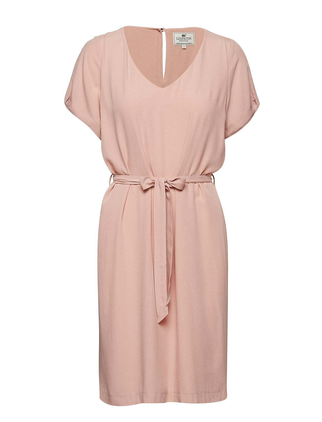 Lexington Clothing Kristina Solid Dress - MELLOW ROSE