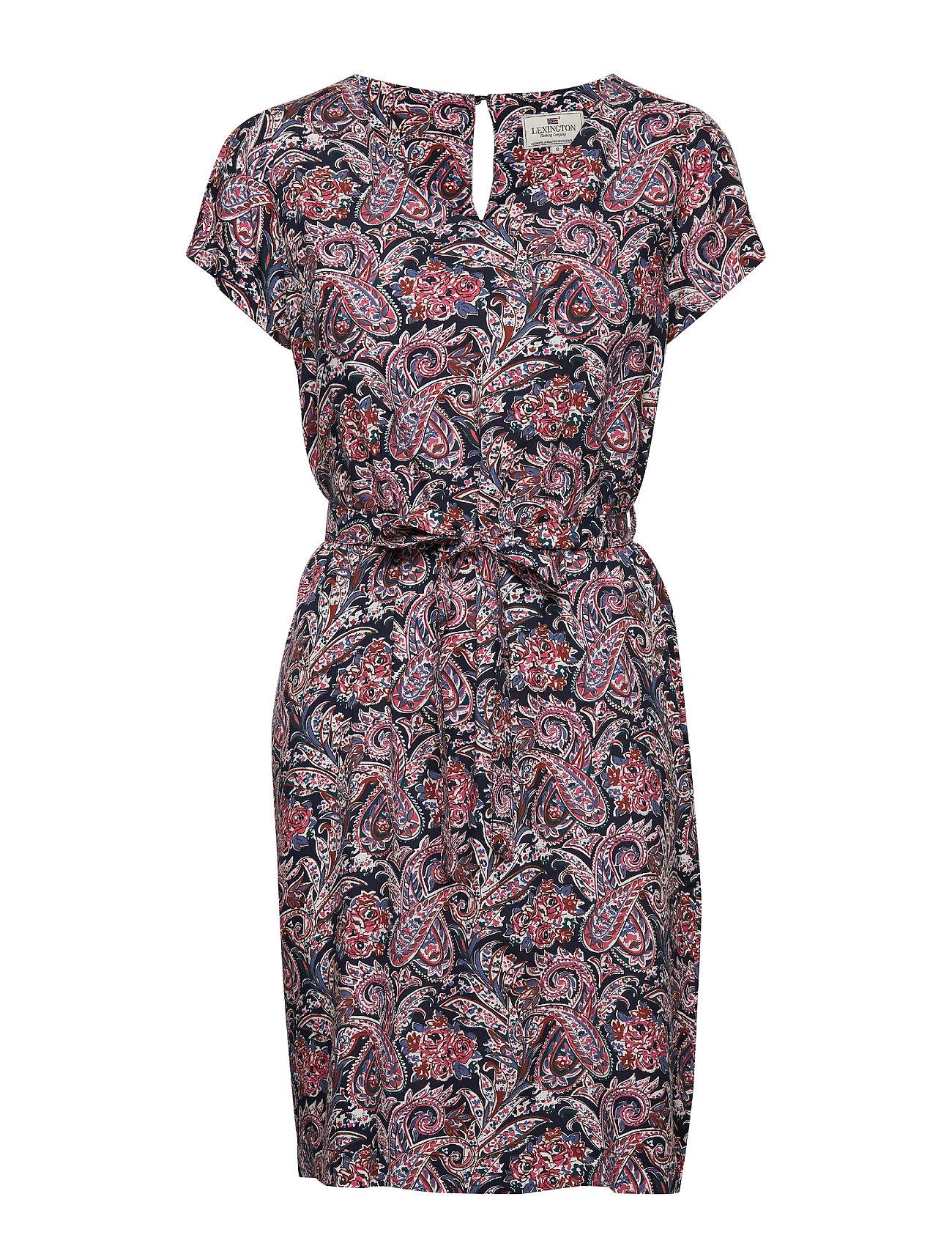 Lexington Clothing Kristina Paisley Dress - PAISLEY PRINT