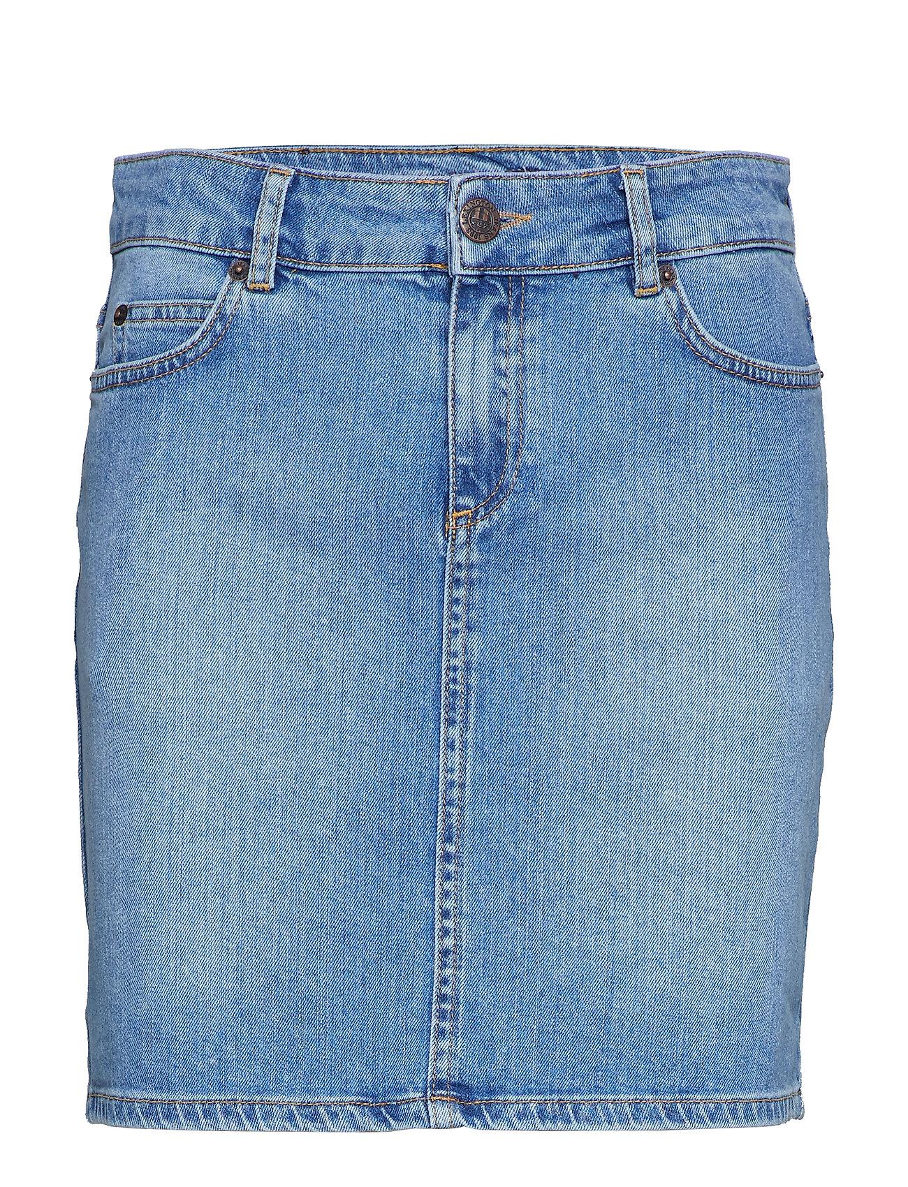 Lexington Clothing Alexa Blue Denim Skirt - LT BLUE DENIM