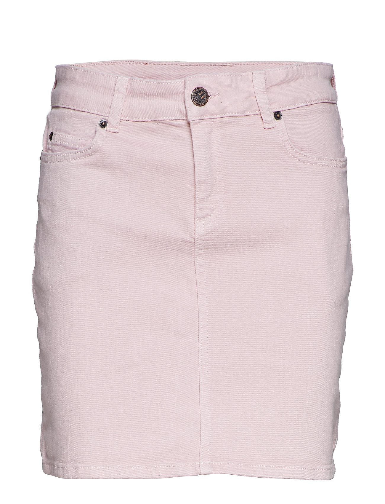 Lexington Clothing Alexa Pink Denim Skirt - PINK DENIM