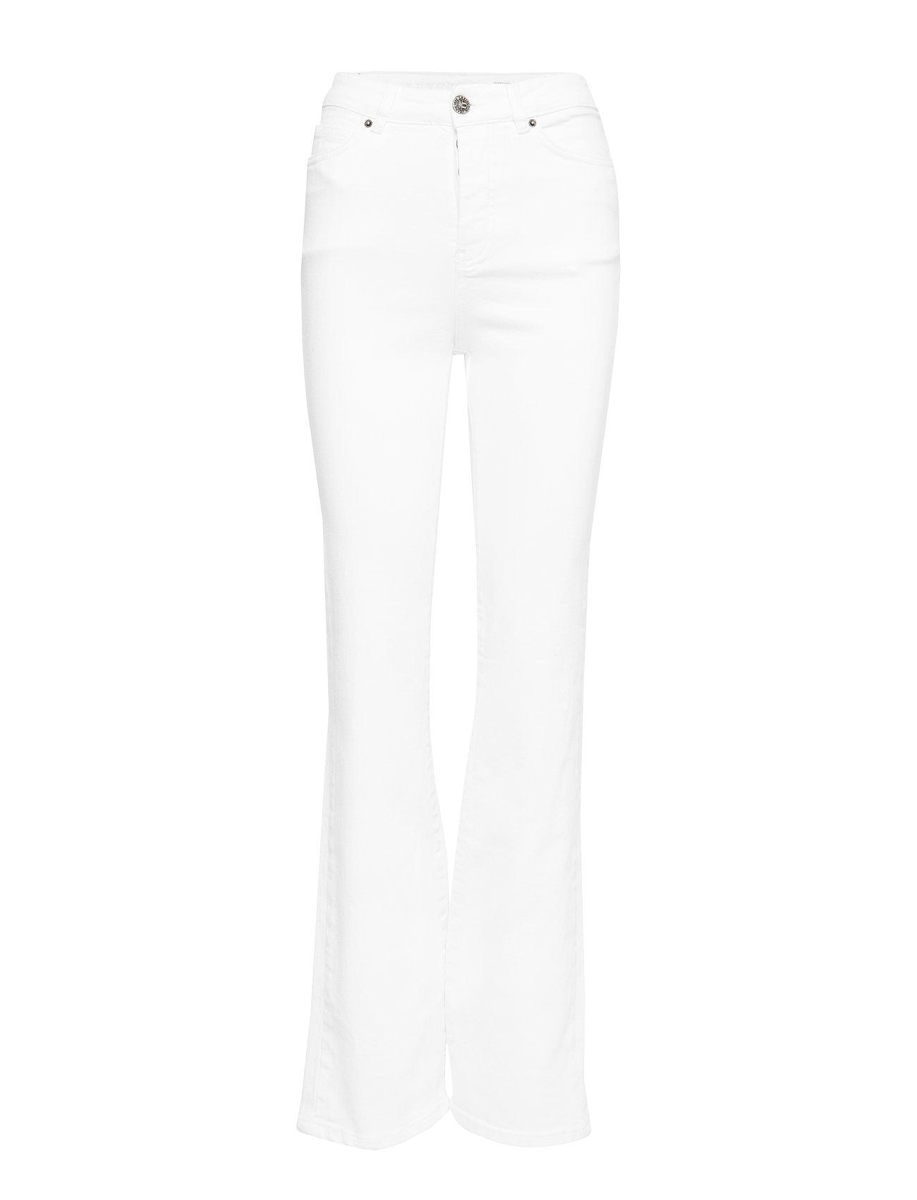 Lexington Clothing Shelley Bootcut vit Jeans Jeans