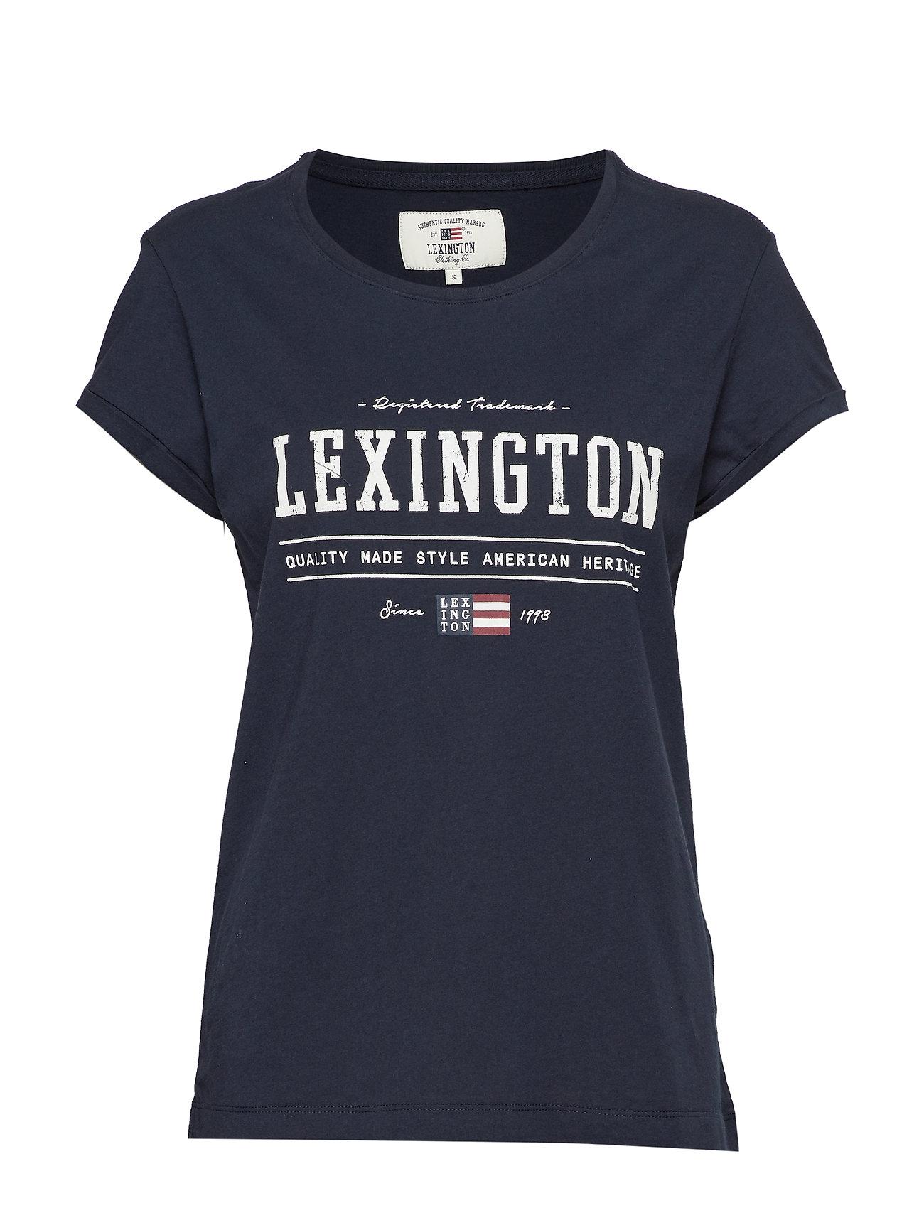 Lexington Clothing Vanessa Tee - DEEPEST BLUE
