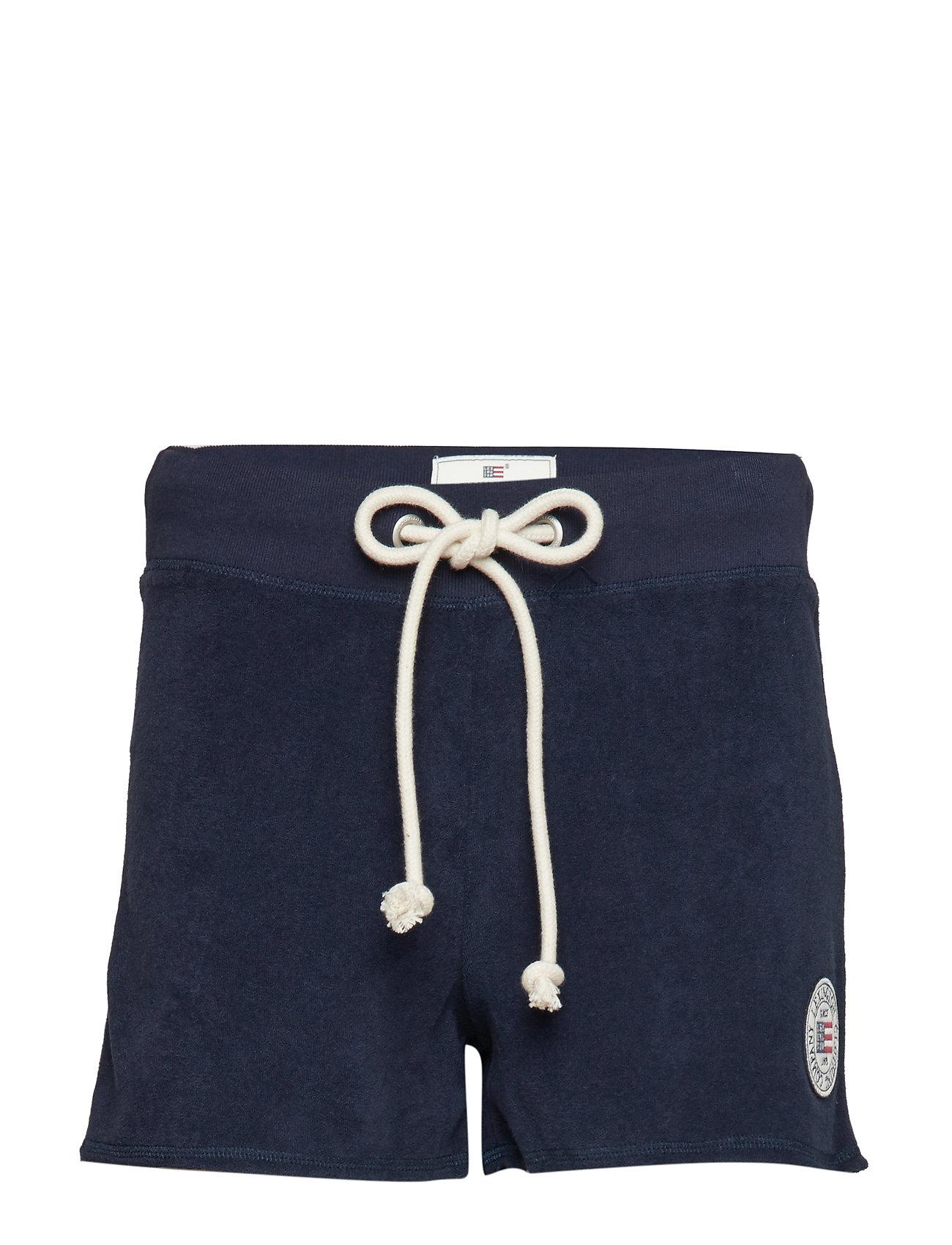 Lexington Clothing Naomi Terry Shorts - NAVY BLUE