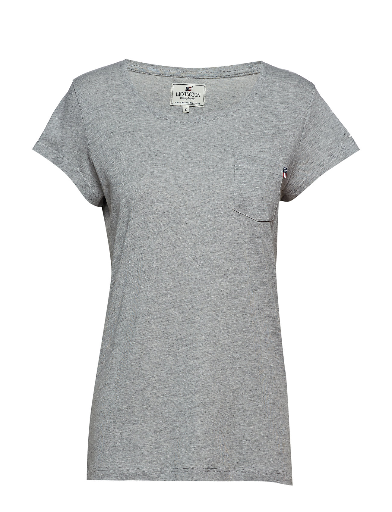 Lexington Clothing Ashley Jersey Tee - LT WARM GRAY MELANGE