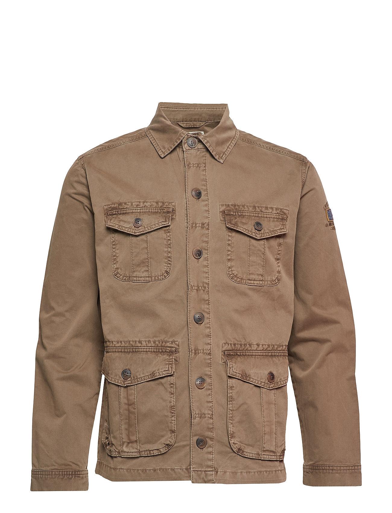 Lexington Clothing Darren Safari Jacket - BEECH GREEN