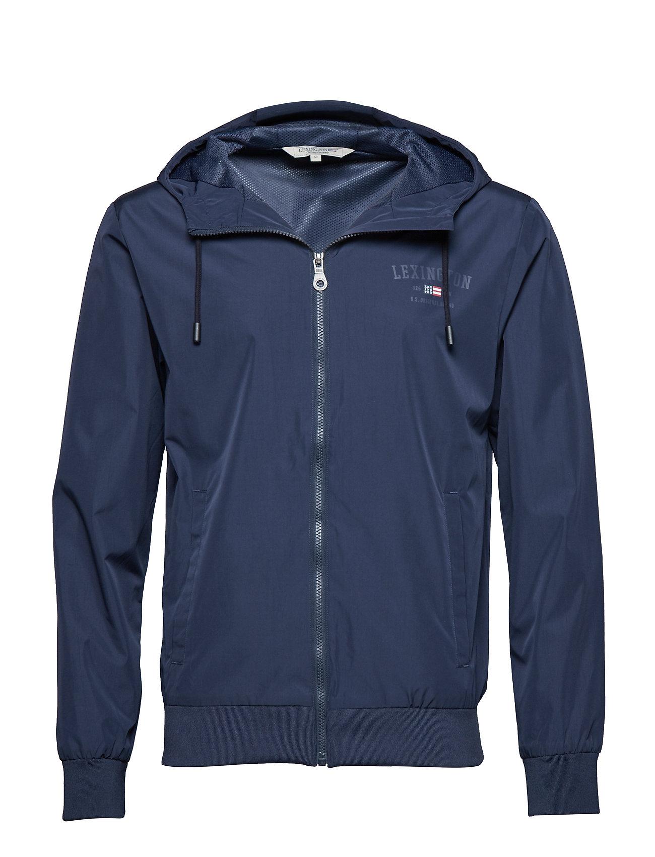 Lexington Clothing Harvey Jacket - NAVY BLUE