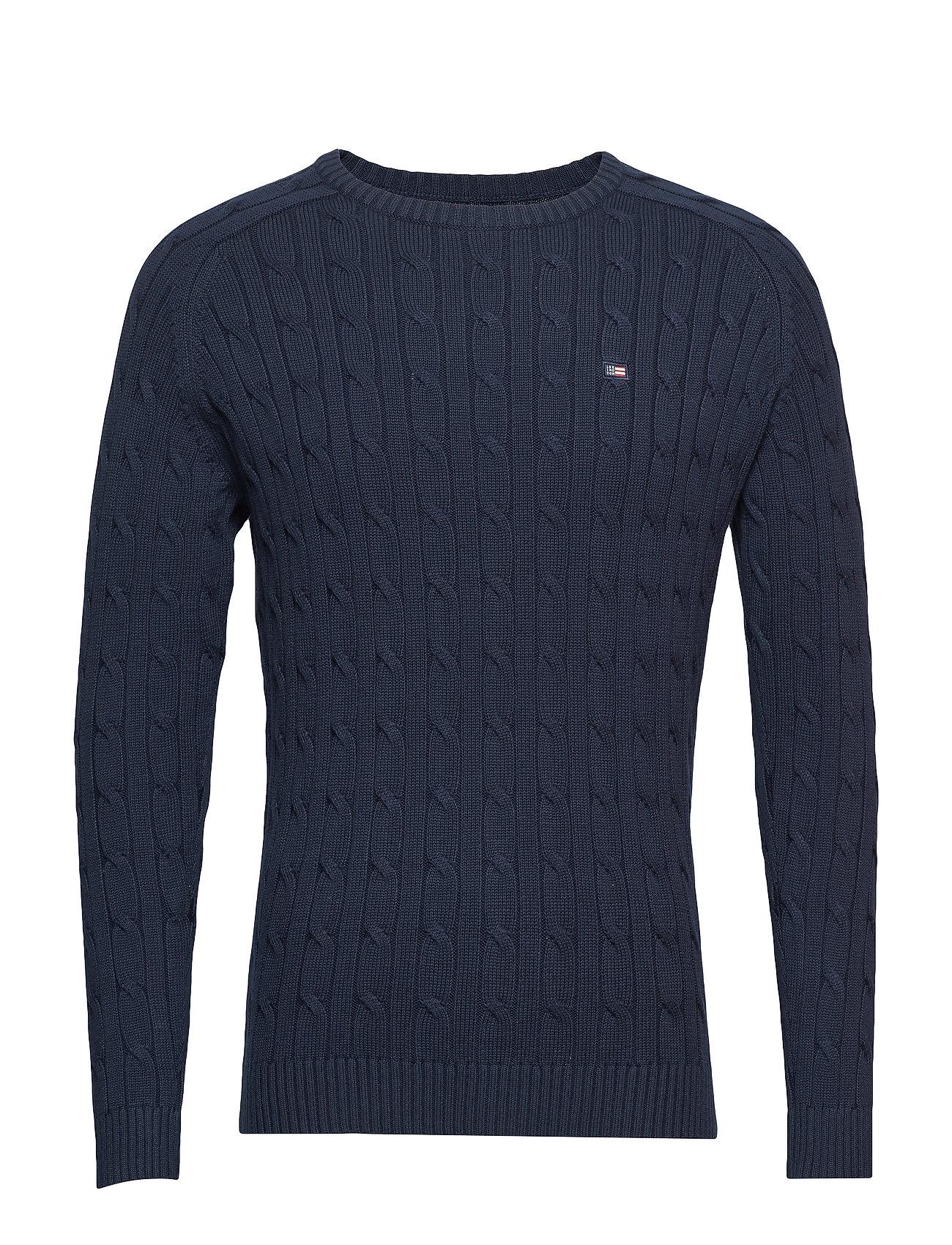 Sweaternavy Clothing Andrew Cable Cotton BlueLexington uPkZXi