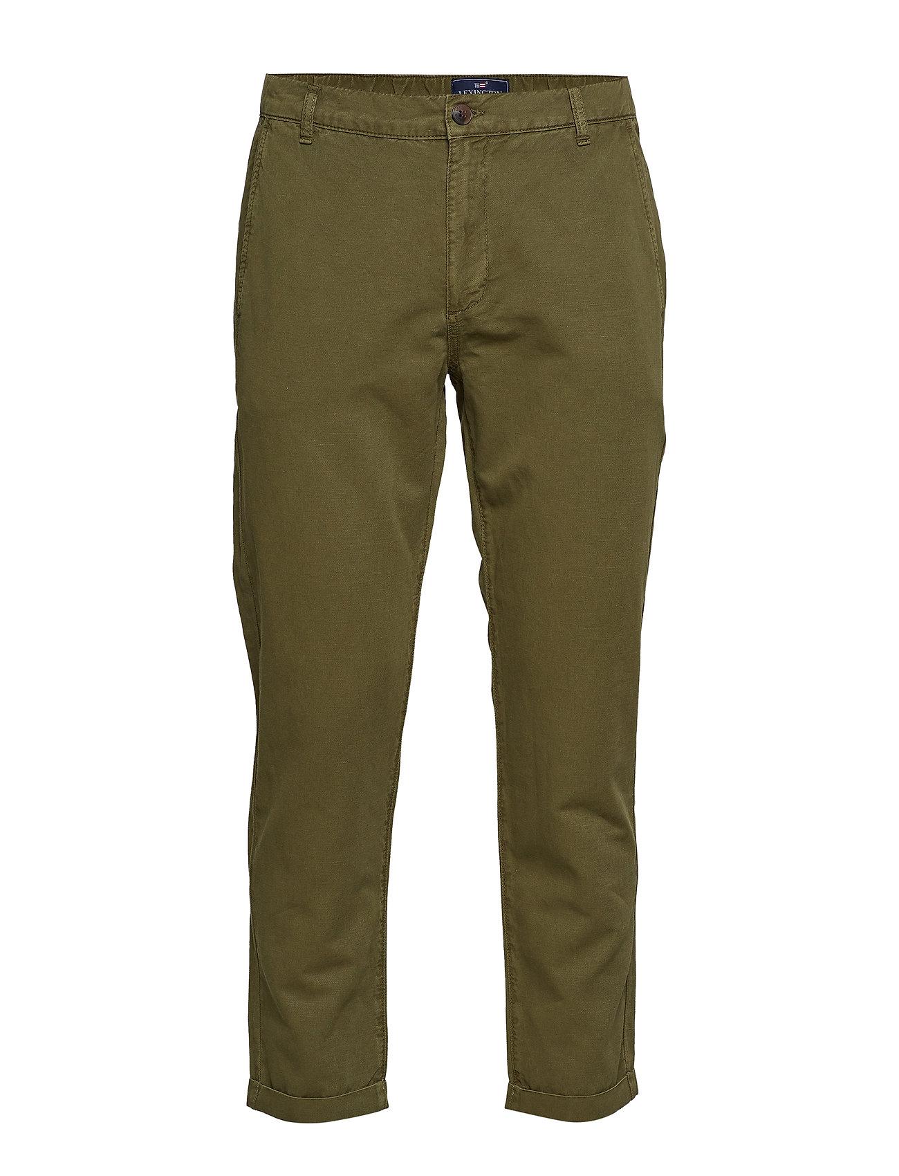 Lexington Clothing Sergio Pants - BEECH GREEN
