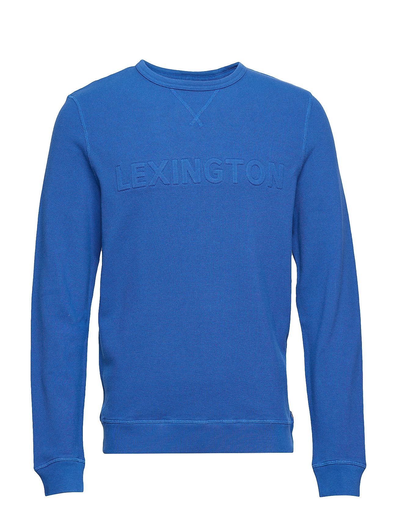 Lexington Clothing Shane Pique Sweatshirt - TRUE BLUE