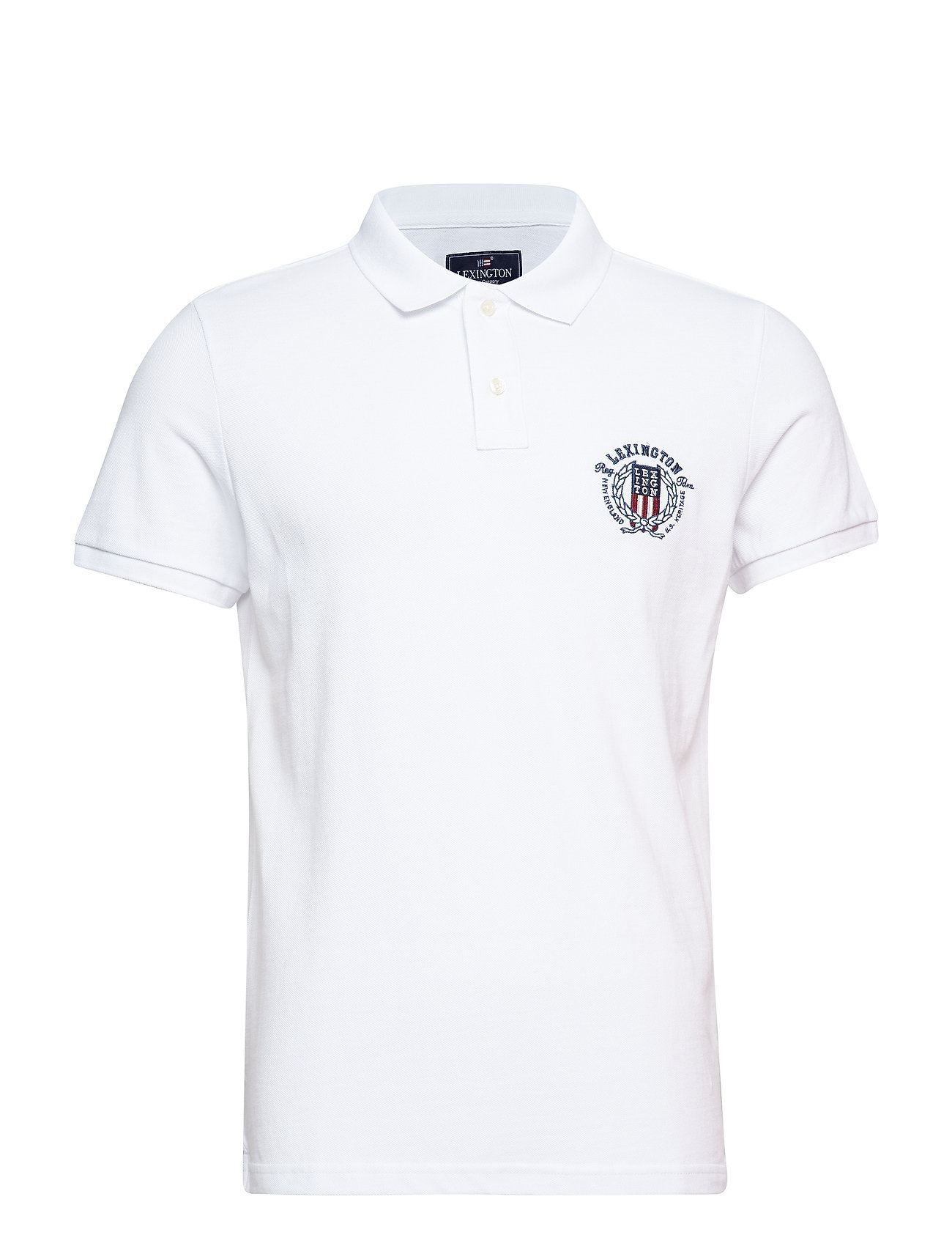 Lexington Clothing Oscar Polo - BRIGHT WHITE
