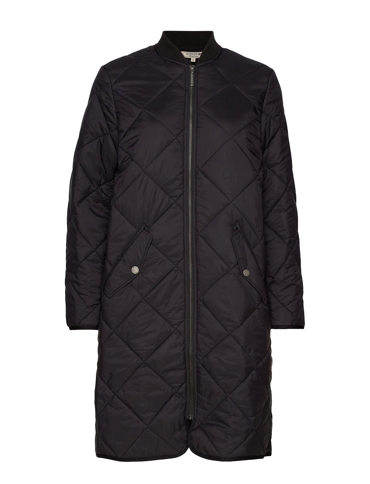 Lexington Clothing Livia Quilted Jacket - BLACK