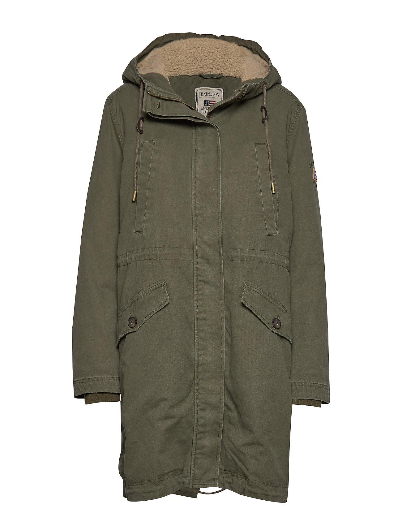 Lexington Clothing Vera Cotton Parka - GREEN