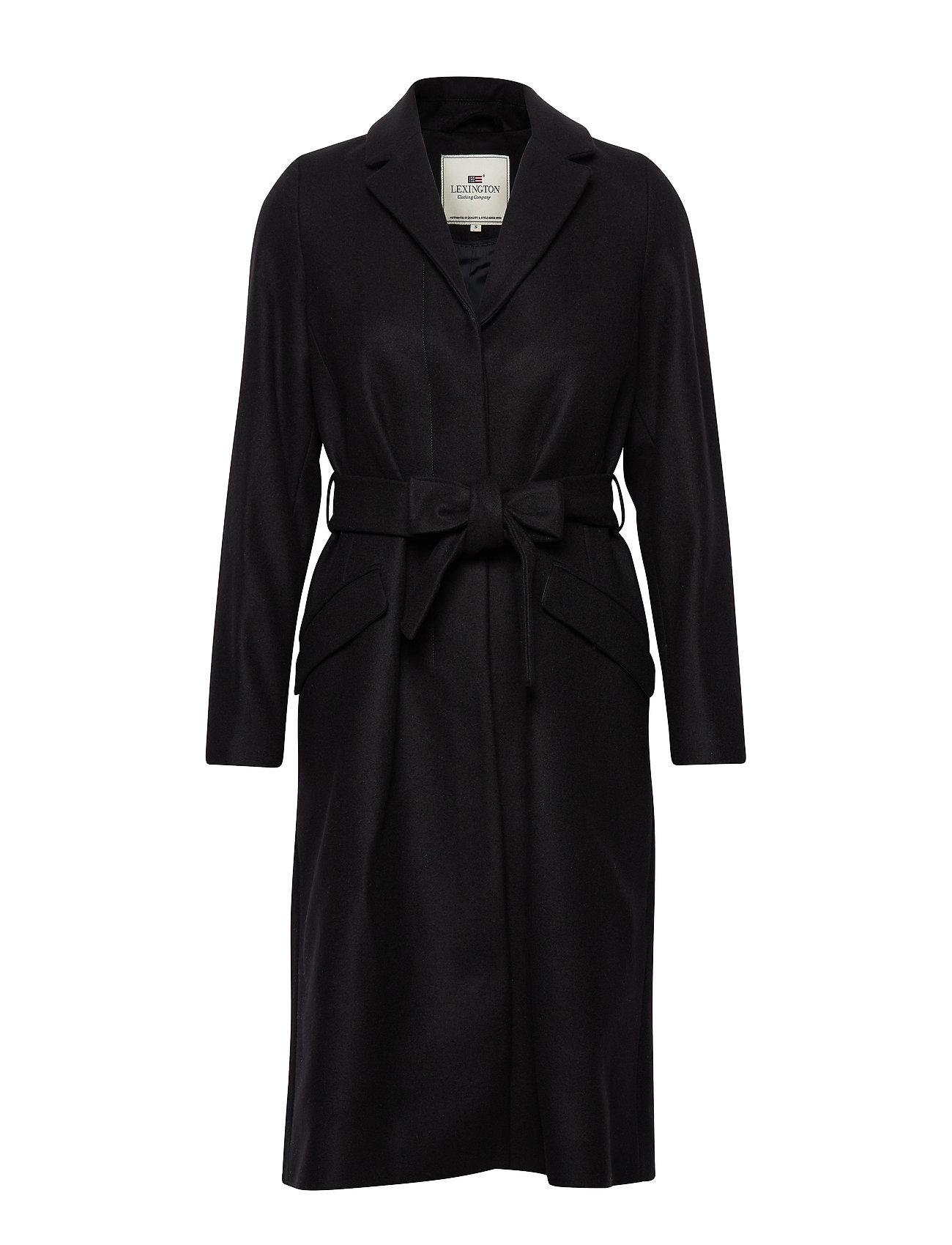 Lexington Clothing Heather Coat - BLACK