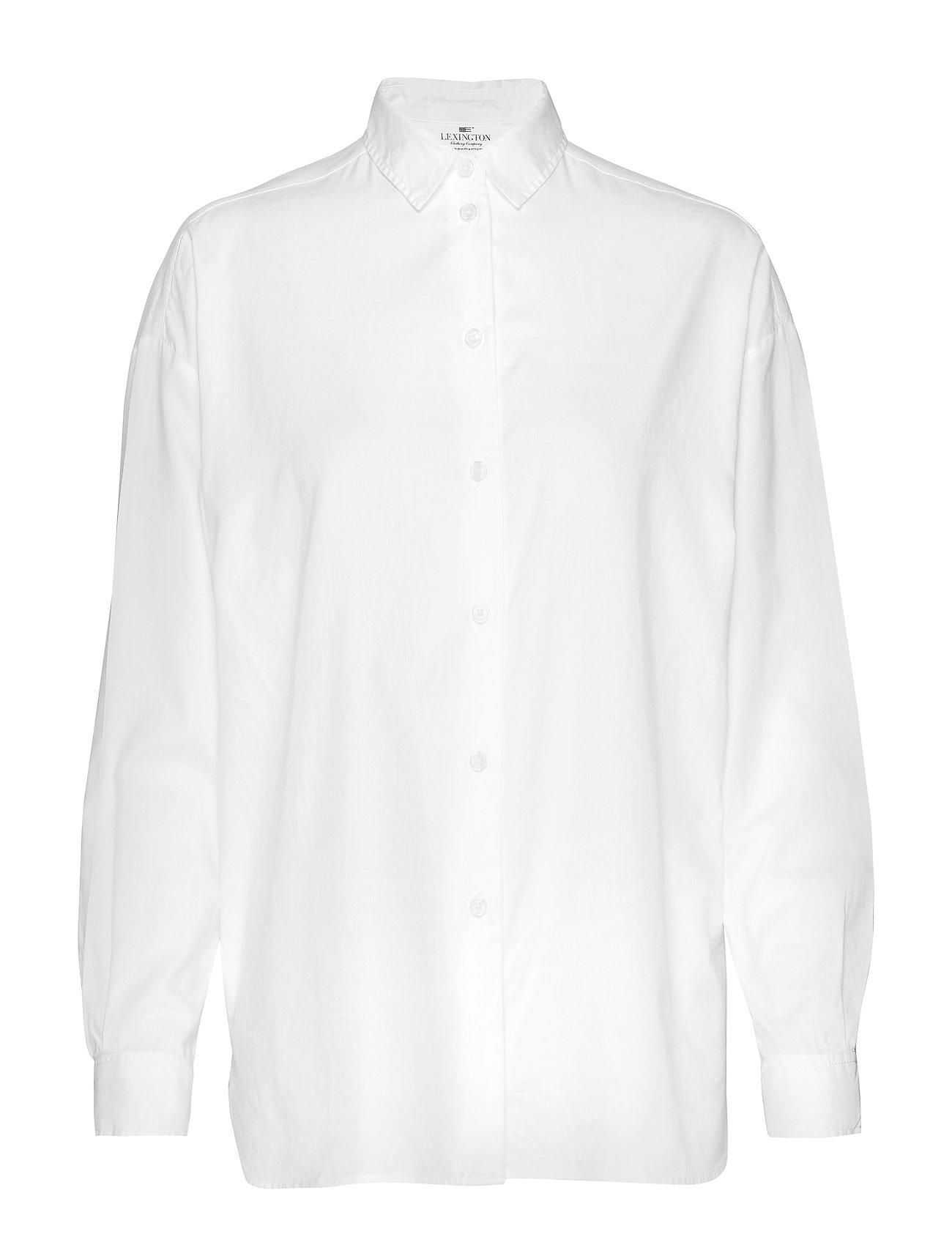 Lexington Clothing Edith Lt Oxford Shirt - WHITE