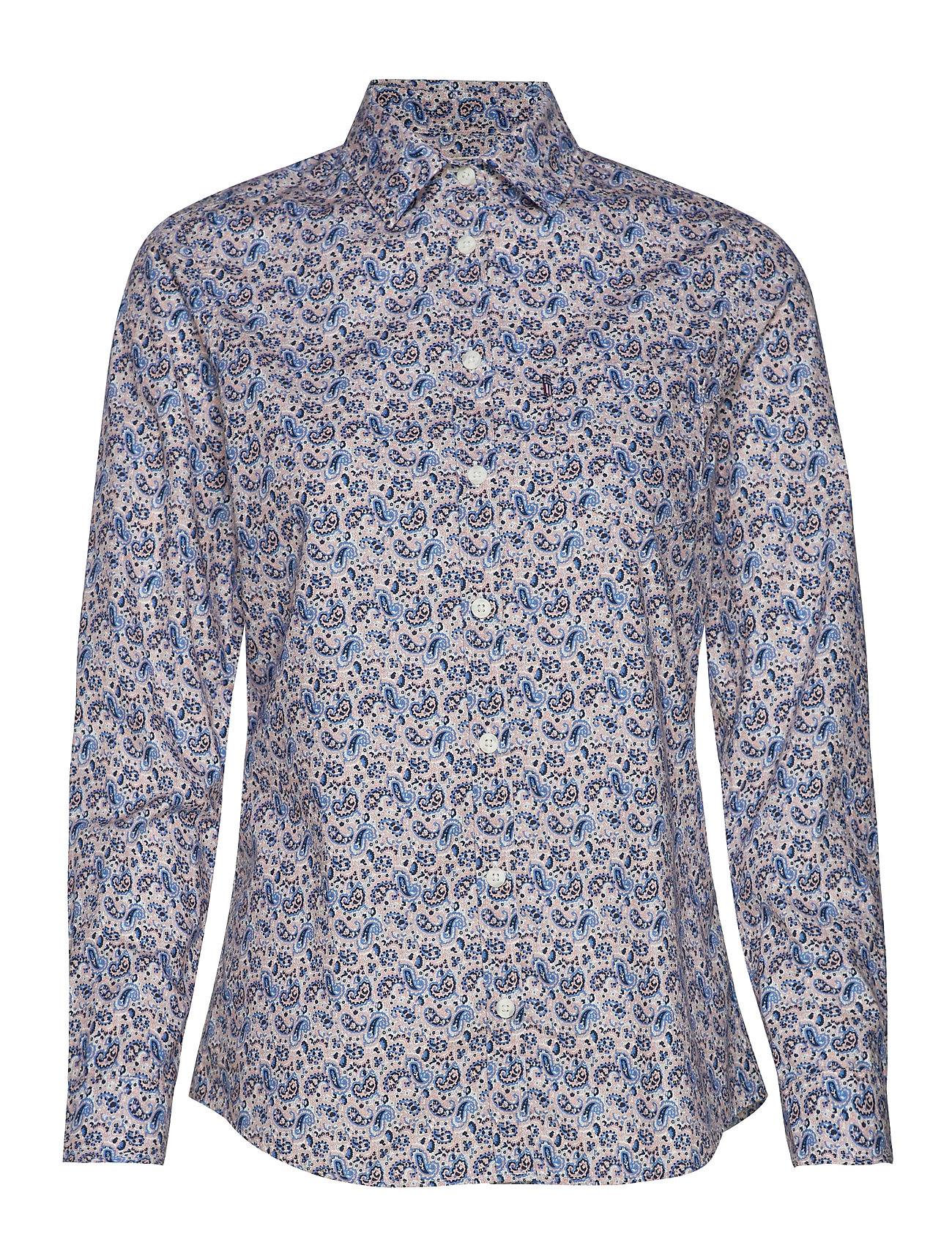 Lexington Clothing Emily Poplin Shirt - PAISLEY PRINT