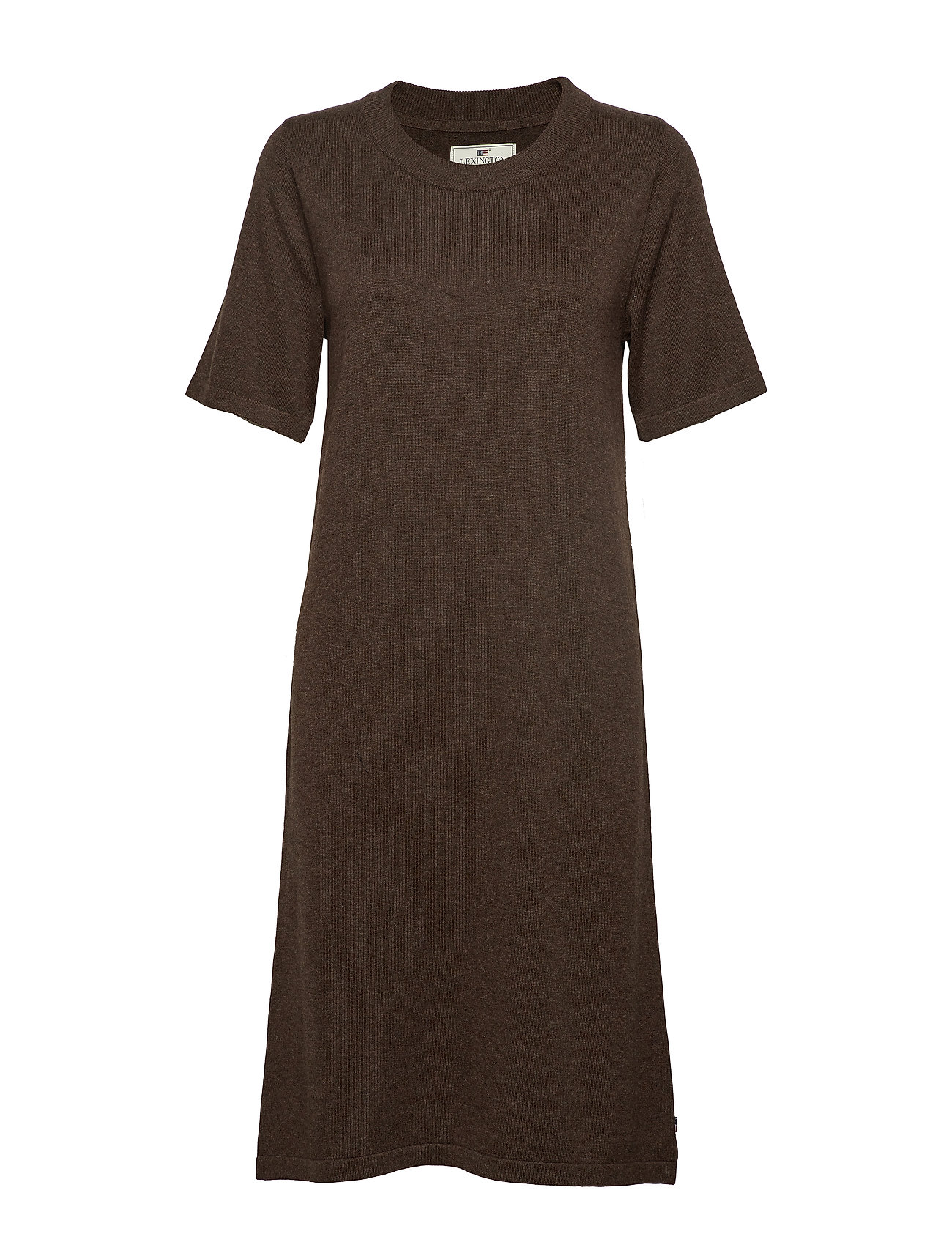 Lexington Clothing Amy Knitted Dress - BROWN MELANGE