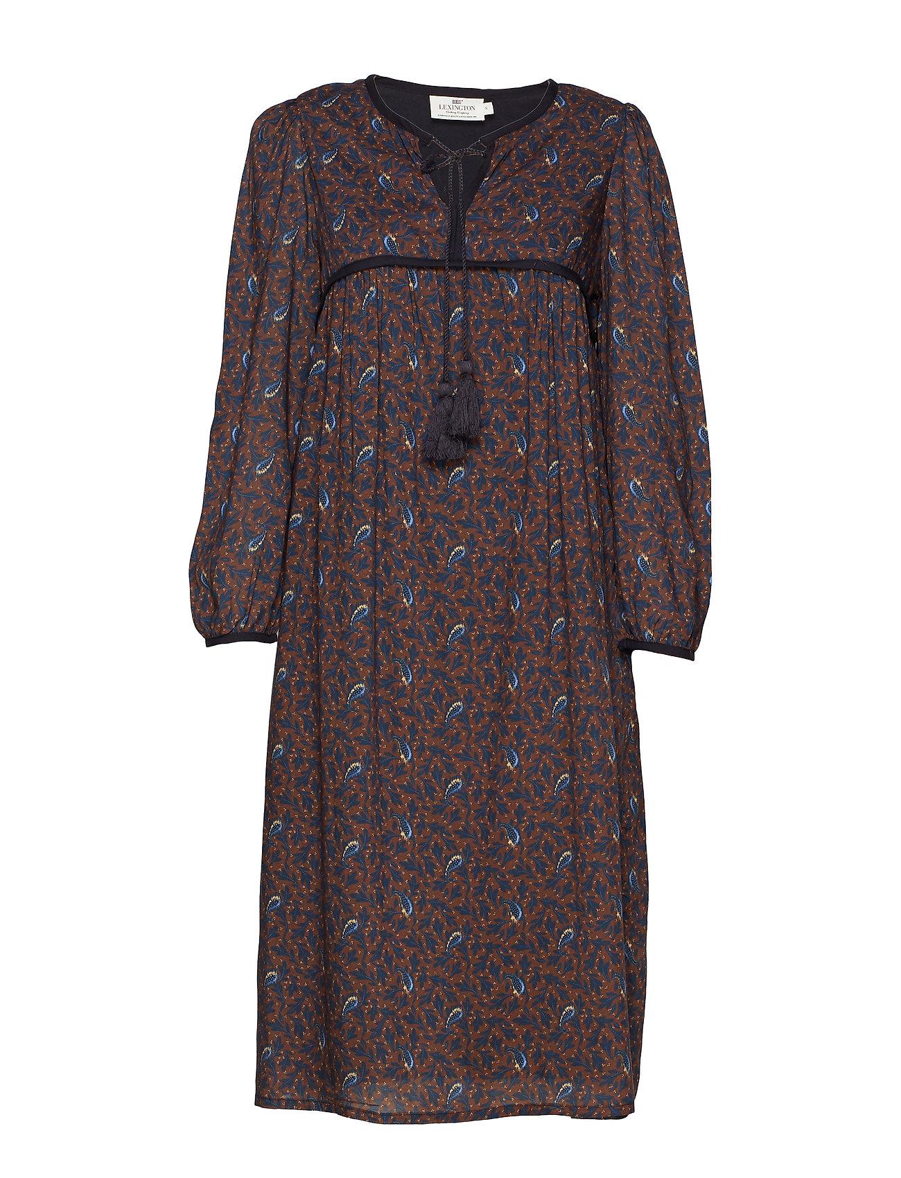 Lexington Clothing Nalia Dress - FEATHER PRINT