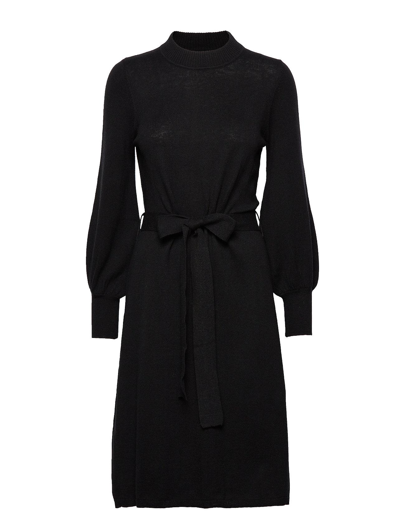 Lexington Clothing Jen Knitted Dress - BLACK