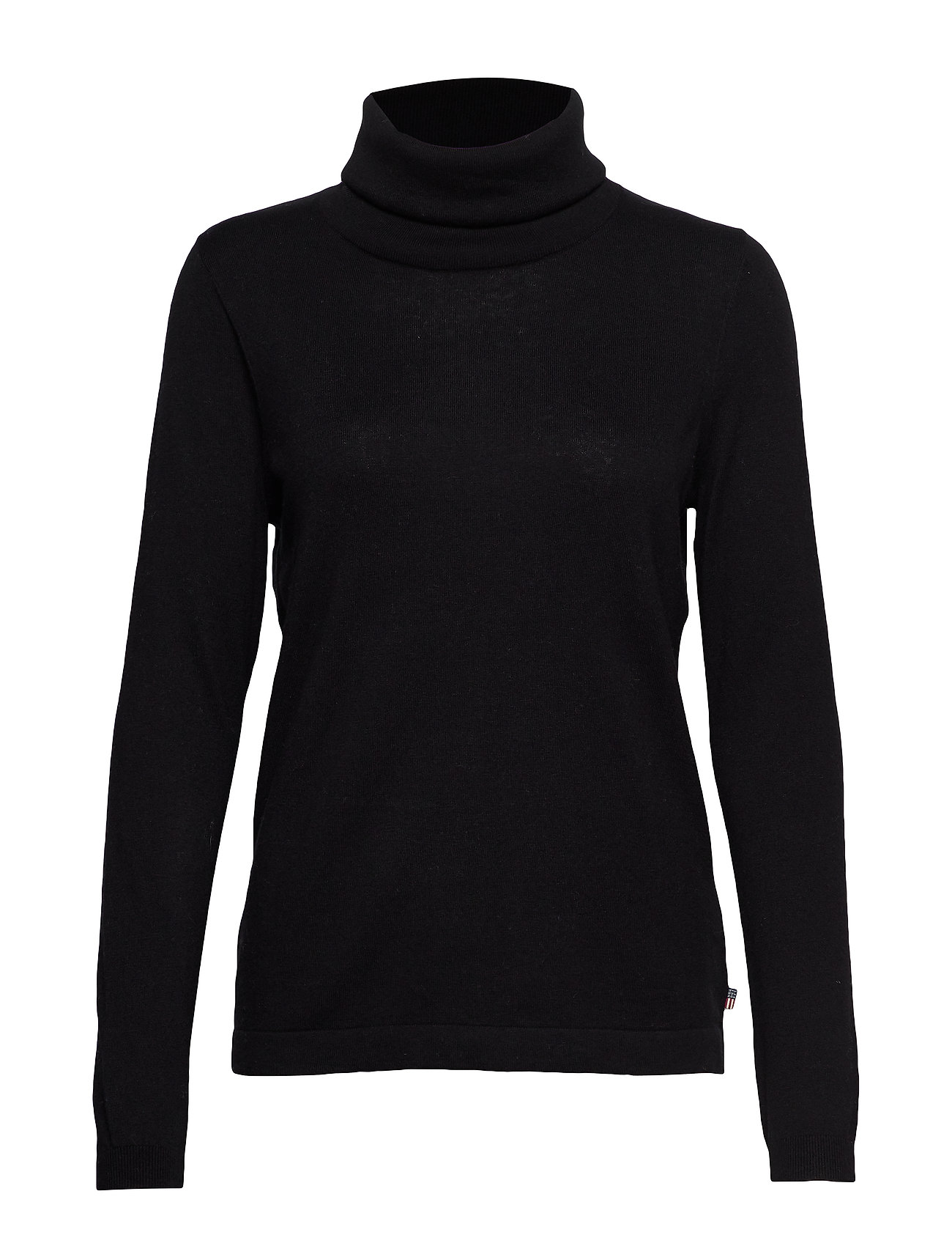 Lexington Clothing Francoise Roll Neck Sweater - BLACK