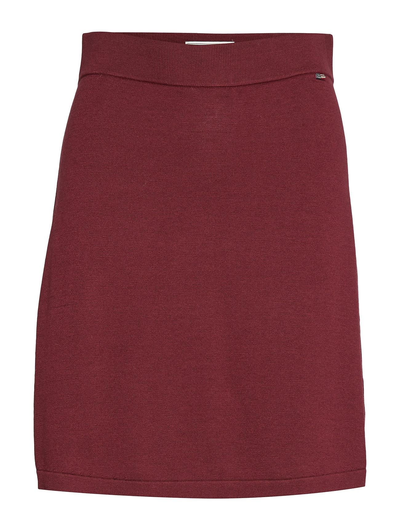 Lexington Clothing Chastity Knitted Skirt - DARK RED