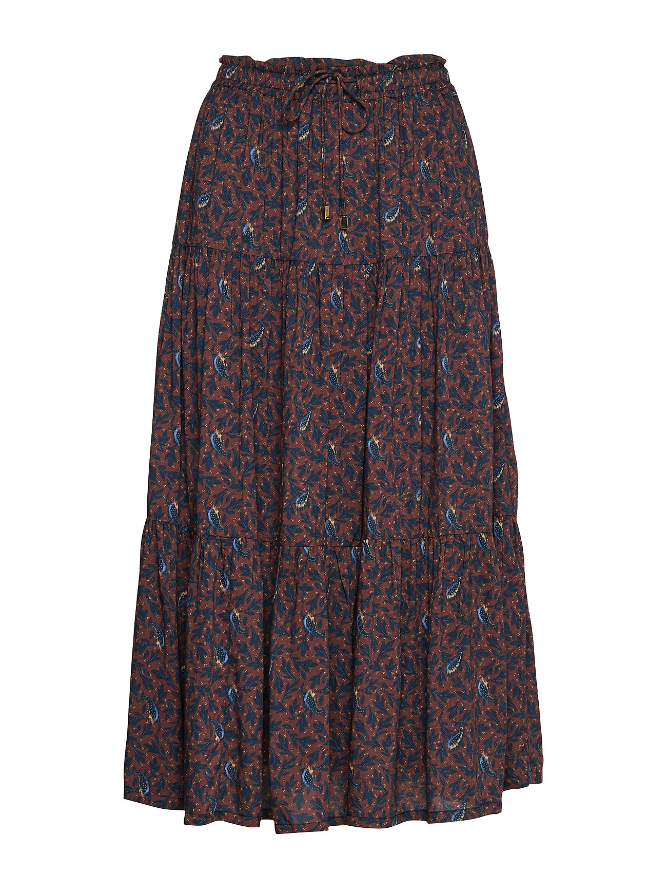Lexington Clothing Evelyn Skirt - FEATHER PRINT