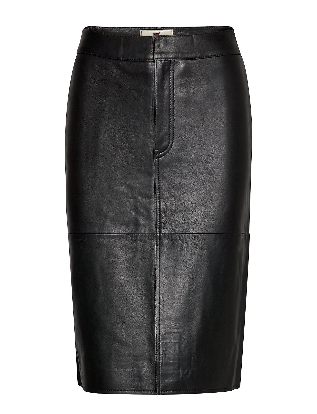 Lexington Clothing Millie Leather Skirt - BLACK