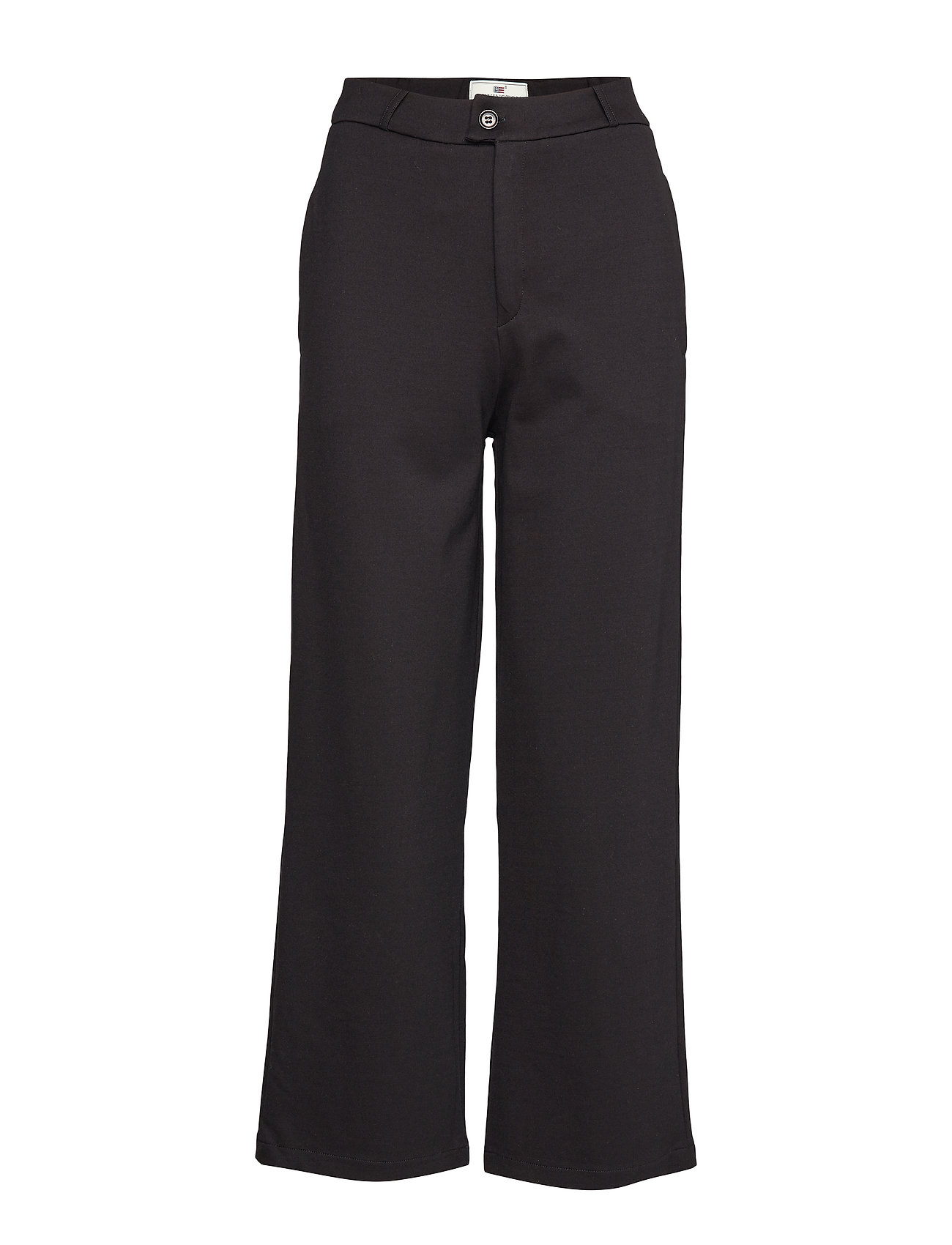 Lexington Clothing Cleo Tailored Jersey Pants - BLACK