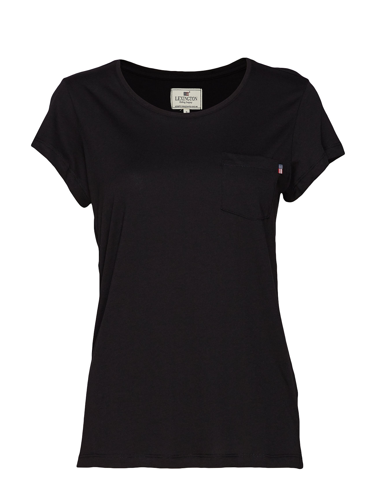 Lexington Clothing Ashley Jersey Tee - BLACK