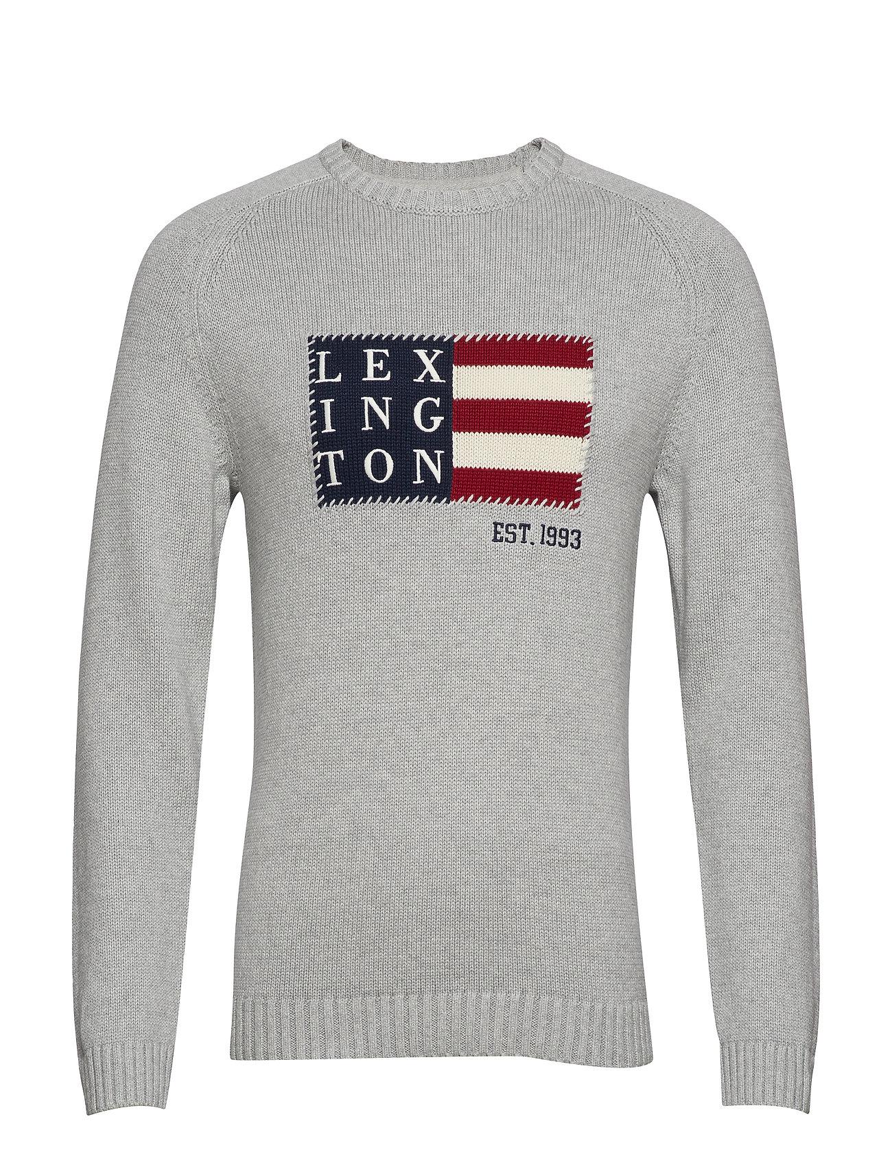Lexington Clothing Dylan Sweater - GRAY MELANGE