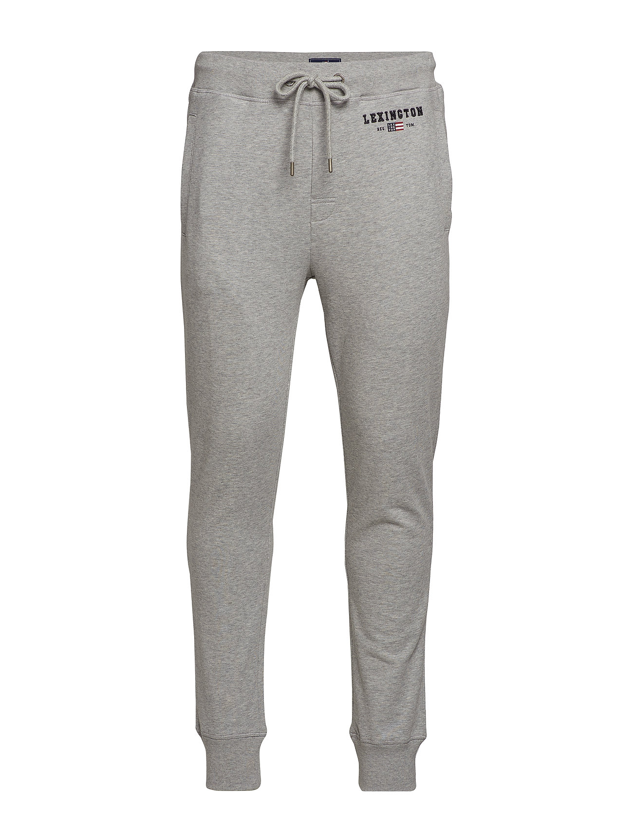 Lexington Clothing Ivan Track Pants - GRAY MELANGE